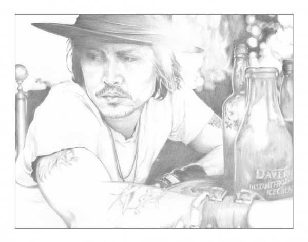 Johnny Depp par Seags
